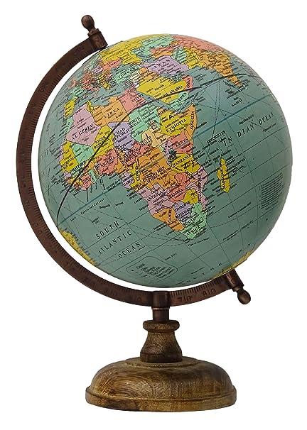 Rotierende Globus Grune Ozean Erde Welt Geographie Tischplatte Wohnkultur Geschenk