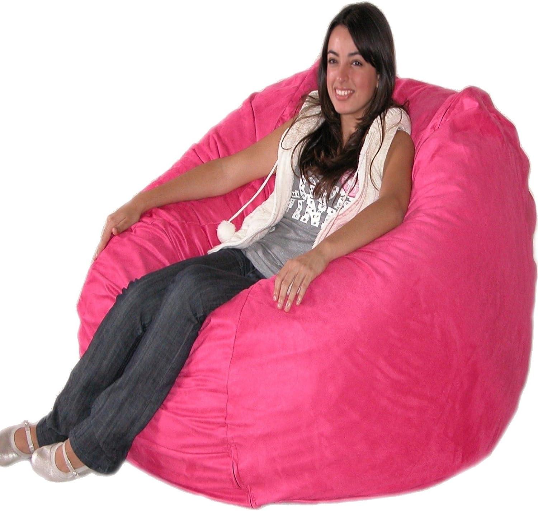 Zitzak Sack It.Cozy Zitzak Casual 4 Feet Hot Pink Amazon Nl