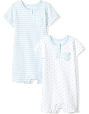e50f0babd43 Moon and Back Baby Set of 2 Organic Rompers