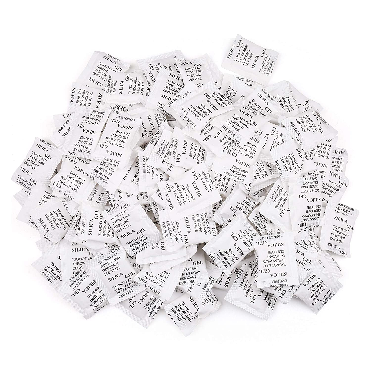 25 Packets 1g Silica Gel Desiccant Non Toxic Moisture Absorber Dehumidifier