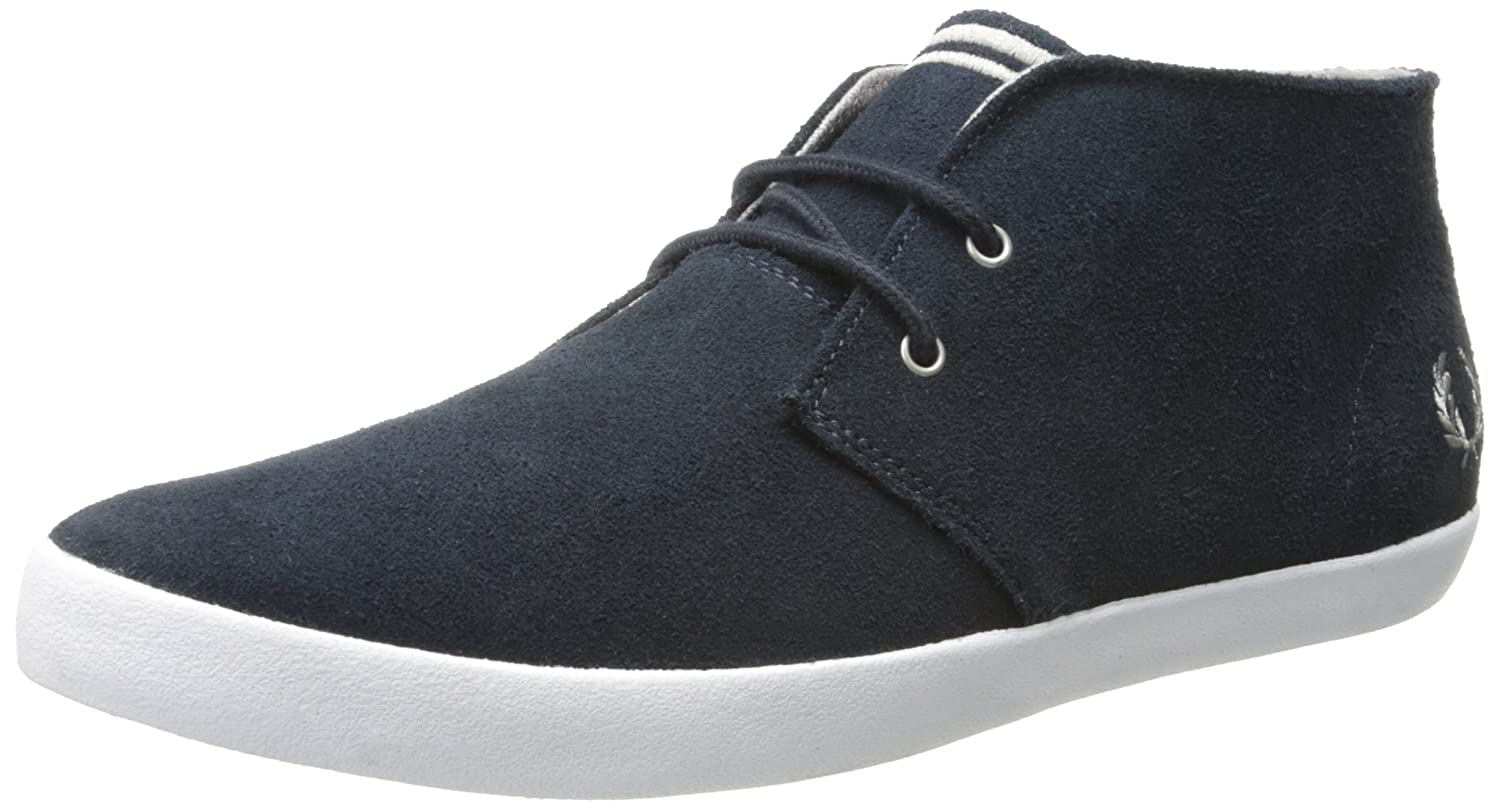 Frot Perry Byron Byron Byron Mid Suede Navy Silber 082bcc