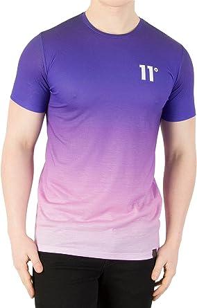 11 Degrees de los Hombres Sub Camiseta, Púrpura, XL: Amazon.es: Ropa y accesorios