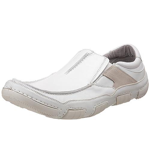 Steve Madden Dixxonn - Cerrado hombre, color blanco, talla 43: Amazon.es: Zapatos y complementos
