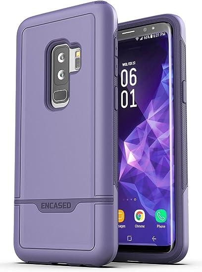 Coque violette pour Galaxy S9 Plus [Série Rebel] Coque robuste ...