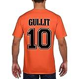 Retro Netherlands Football Shirt Cruyff Van Basten Gullit Rijkaard Cotton T-Shirt 761