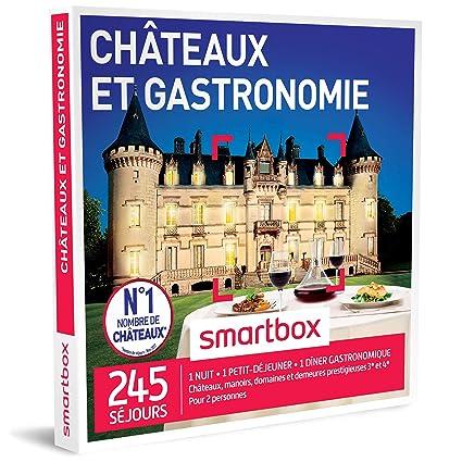 Idee Cadeau 1 An De Couple.Smartbox Coffret Cadeau Homme Femme Couple Chateaux Et
