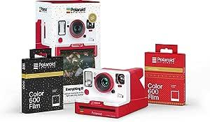 Polaroid Originals Everything Box - OneStep 2 VF Red Camera and Film Bundle