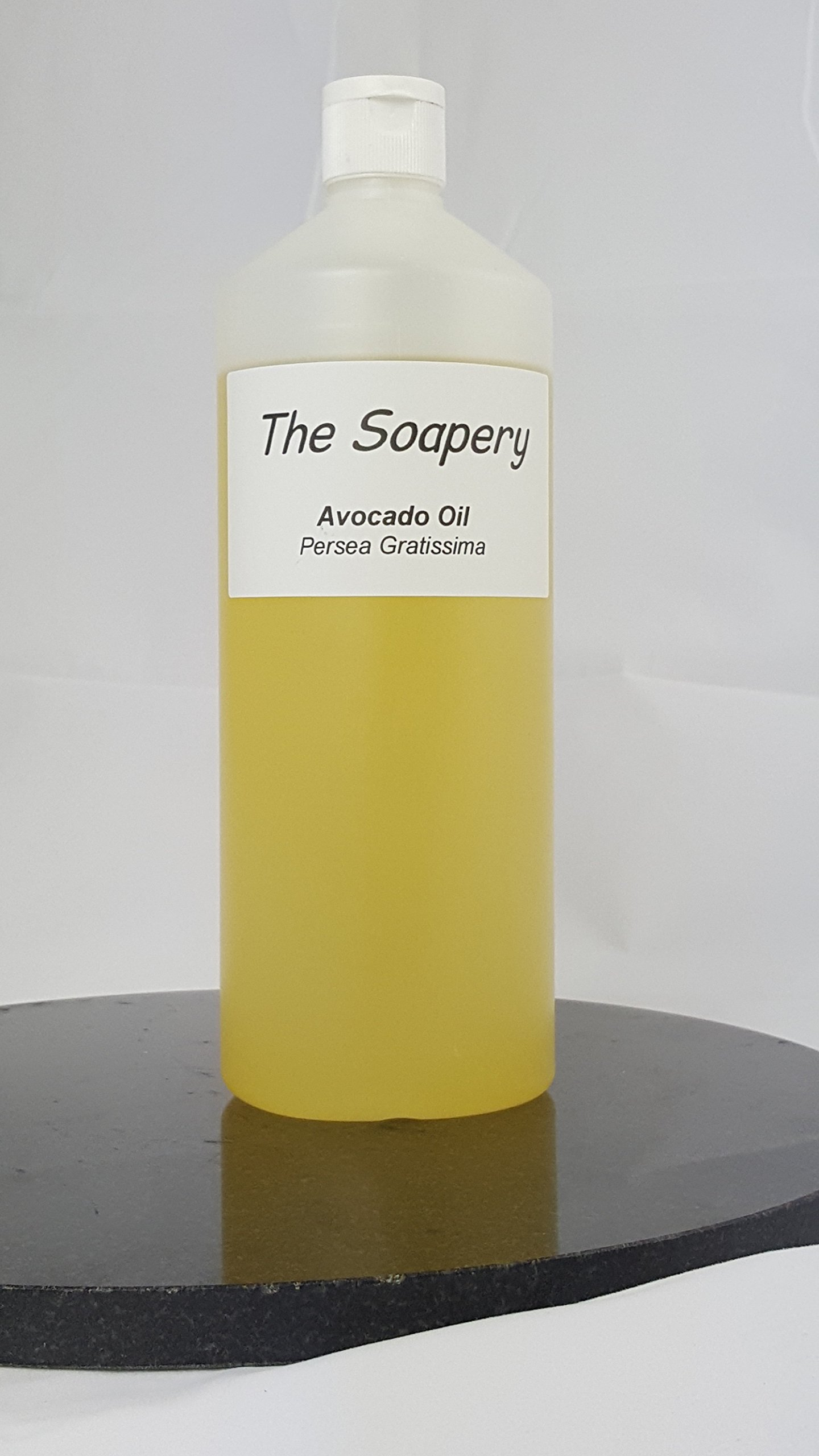 Avocado Oil - 1 Litre Refined Cosmetic Grade for Massage, Aromatherapy, Soap and Natural Skin Care