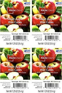 Mainstays Sweet Apple Wax Cubes - 4-Pack