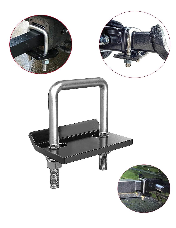 "Hitch Tightener Anti Rattle Stabilizer - Anti-Rattle Hitch Tightener Stabilizer Clamp, Rust Free -2"" Antia Teck"