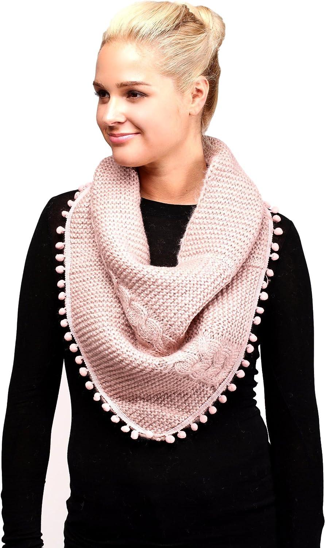 Women's Knitted Loop Tube...