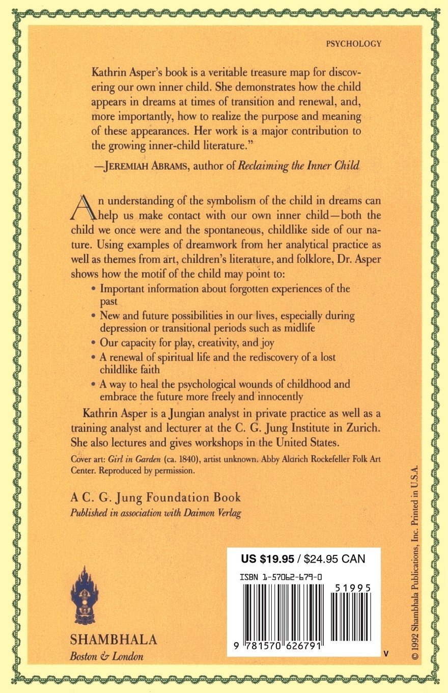 Inner Child In Dreams C G Jung Foundation Books Series Kathrin