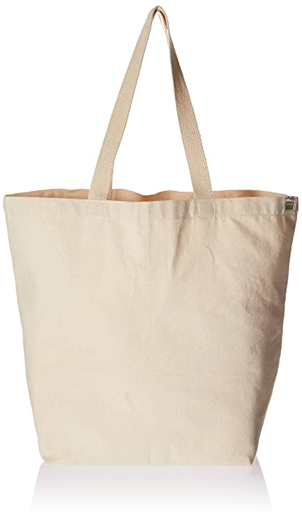 Amazon.com  Eco-Bags Products Recycled Cotton Tote 37f5ed967