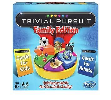 Juego de mesa de edición familiar Trivial Pursuit de Hasbro Gaming ...