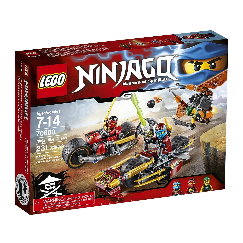 LEGO Ninjago Ninja Bike Chase 70600 by LEGO: Amazon.es ...