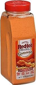Frank's RedHot Orginal Seasoning, 21.2 oz