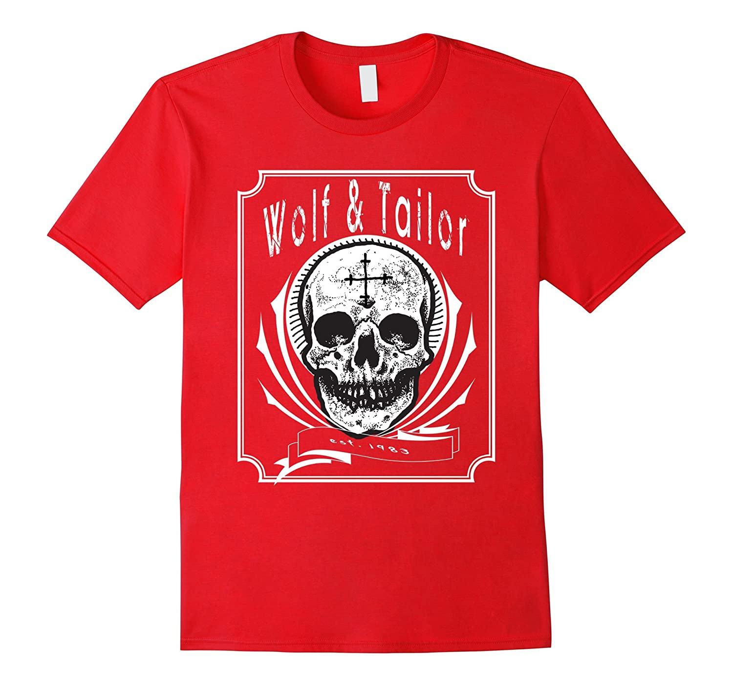 Wolf and Tailor - Skull Logo T-Shirt-TD