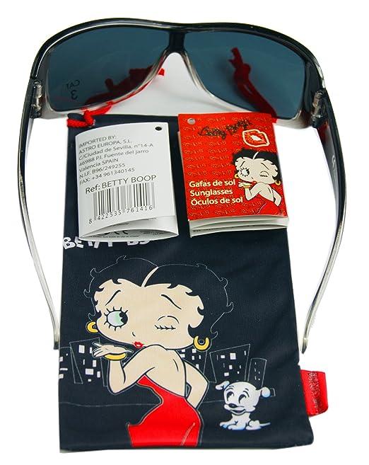 Betty Boop Gafas de sol para niño/niña estuche/bolsa, 100 ...