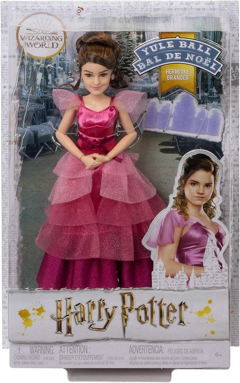 Harry Potter Muñeca Hermione Granger Baile de navidad de Harry Potter con accesorios (Mattel GFG14) , color/modelo surtido