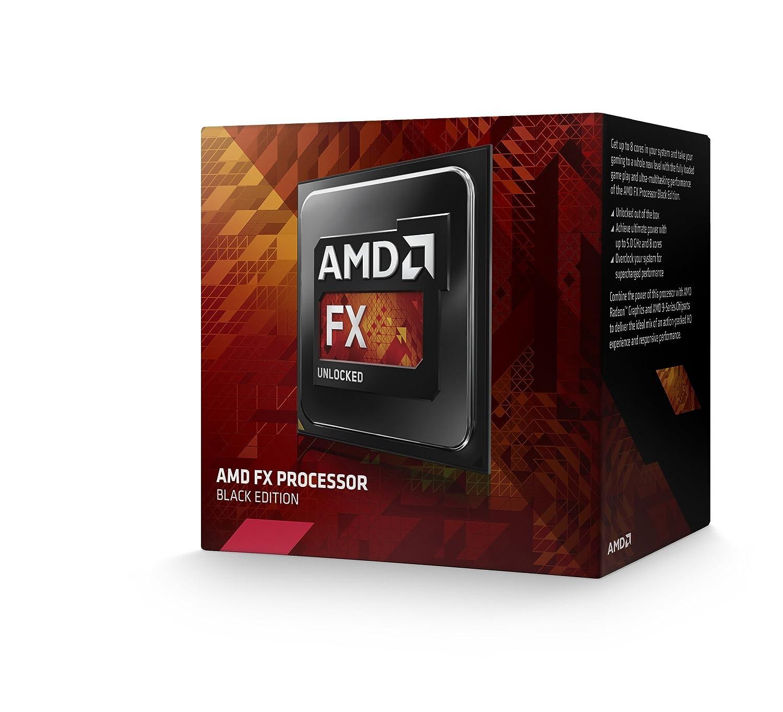 AMD FD8350FRHKBOX - Procesador AMD FX 8350 (4 GHz, 4.2 GHz Turbo, 125 W, socket AM3+)