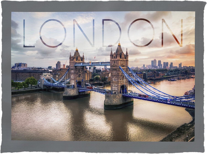 London Bridge image on fabric products