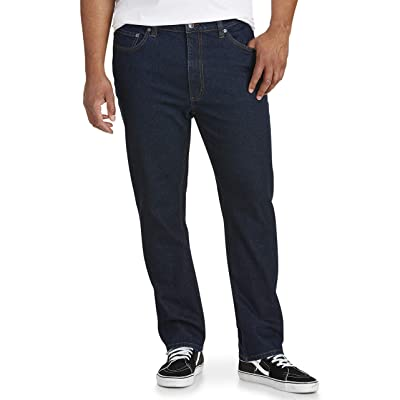 Essentials Men's Big & Tall Tapered-fit Stretch Jean fit by DXL: Clothing