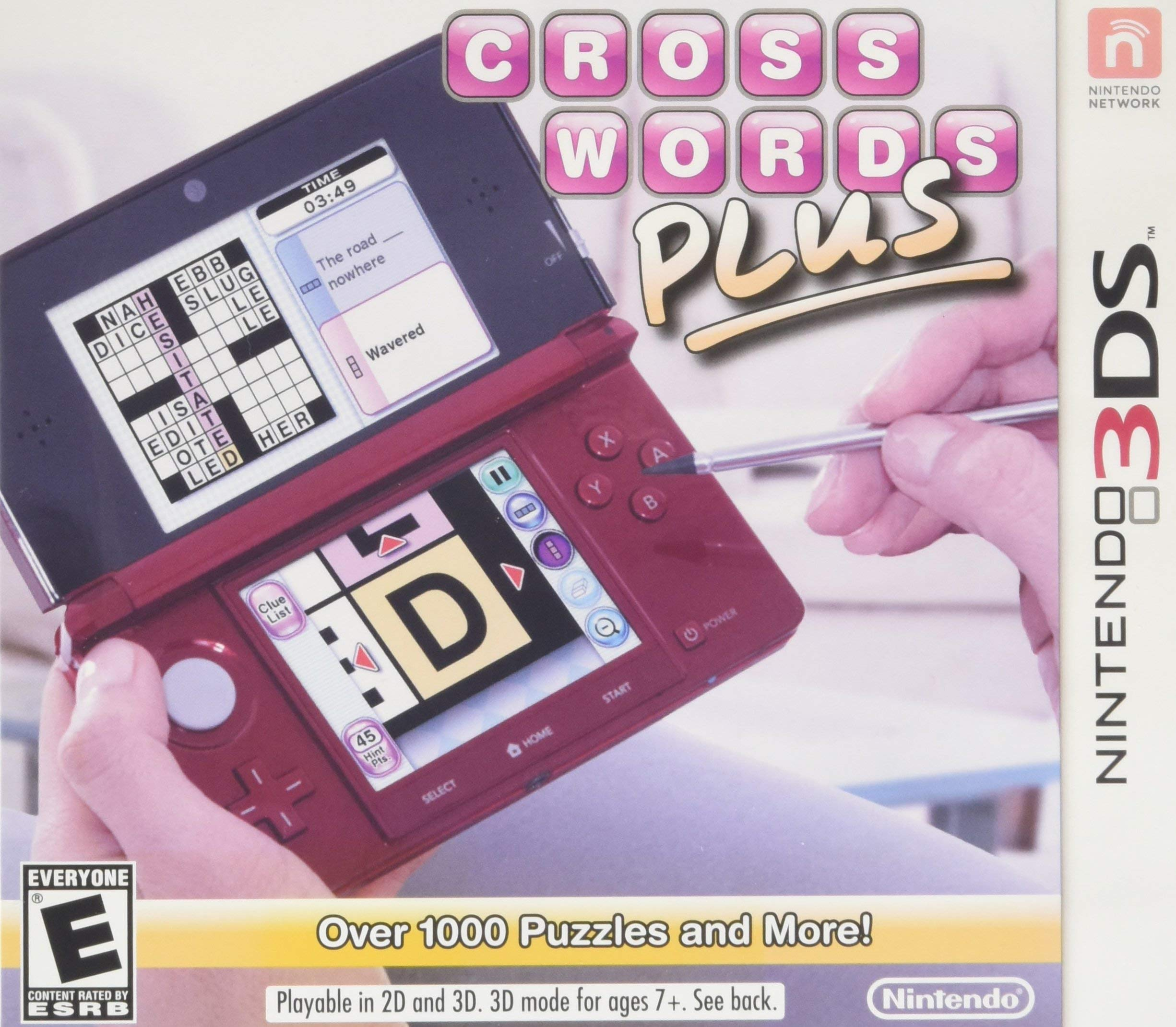 Crosswords PLUS - Nintendo 3DS (Certified Refurbished)