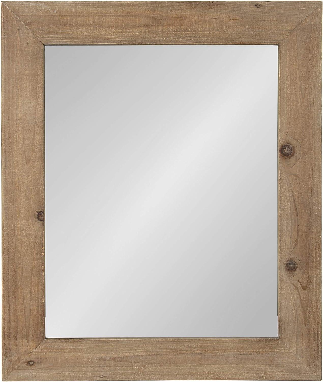 Kate and Laurel Garvey Wood Framed Wall Mirror