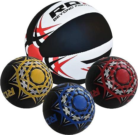 Balón medicinal pesado de cuero para Crossfit, de la marca RDX ...