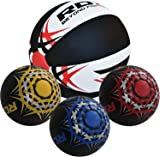 RDX Medicine Ball Gym Abs Exercises| Leather Weighted Med Ball for Functional Training Fitness | Great for Cleans, Throws, Crunches| Available In 5,8,10 And 12KG