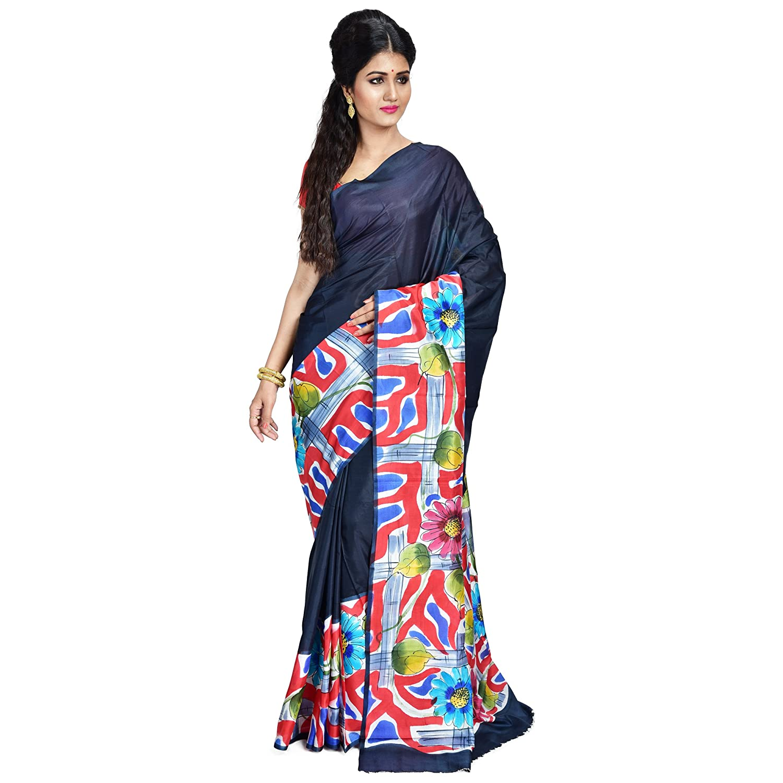Hand-Painted Saree