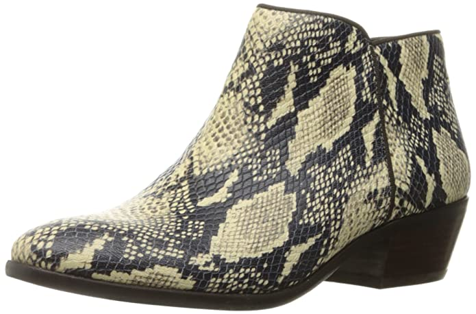 Sam Edelman Women's Petty Ankle Boot | Faux Snake Booties for Women | Cute Fall Boots