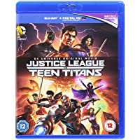 Justice League vs Teen Titans - DC Universe Original Movie (Blu-ray + Digital HD + Ultraviolet) (Region Free + Fully Packaged Import)