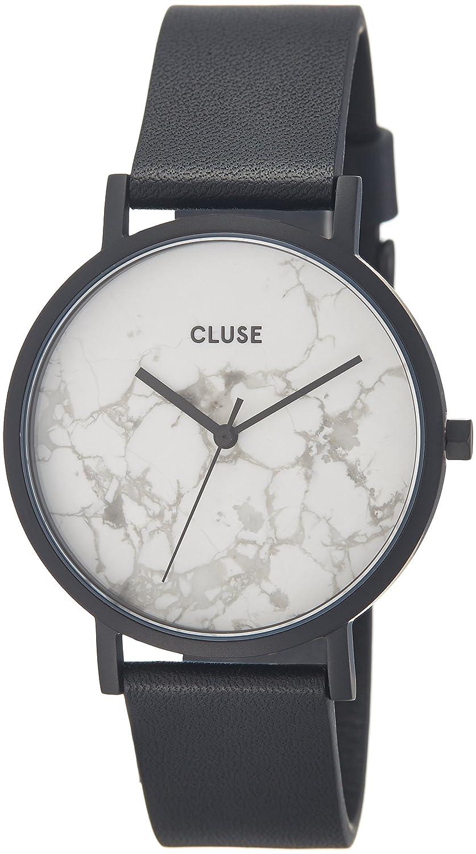 Cluse Unisex-Armbanduhr Analog Quarz Leder CL40002