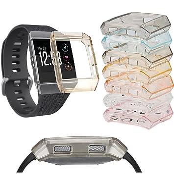 Para Fitbit Ionic caso, accessory carcasa protectora marco ...