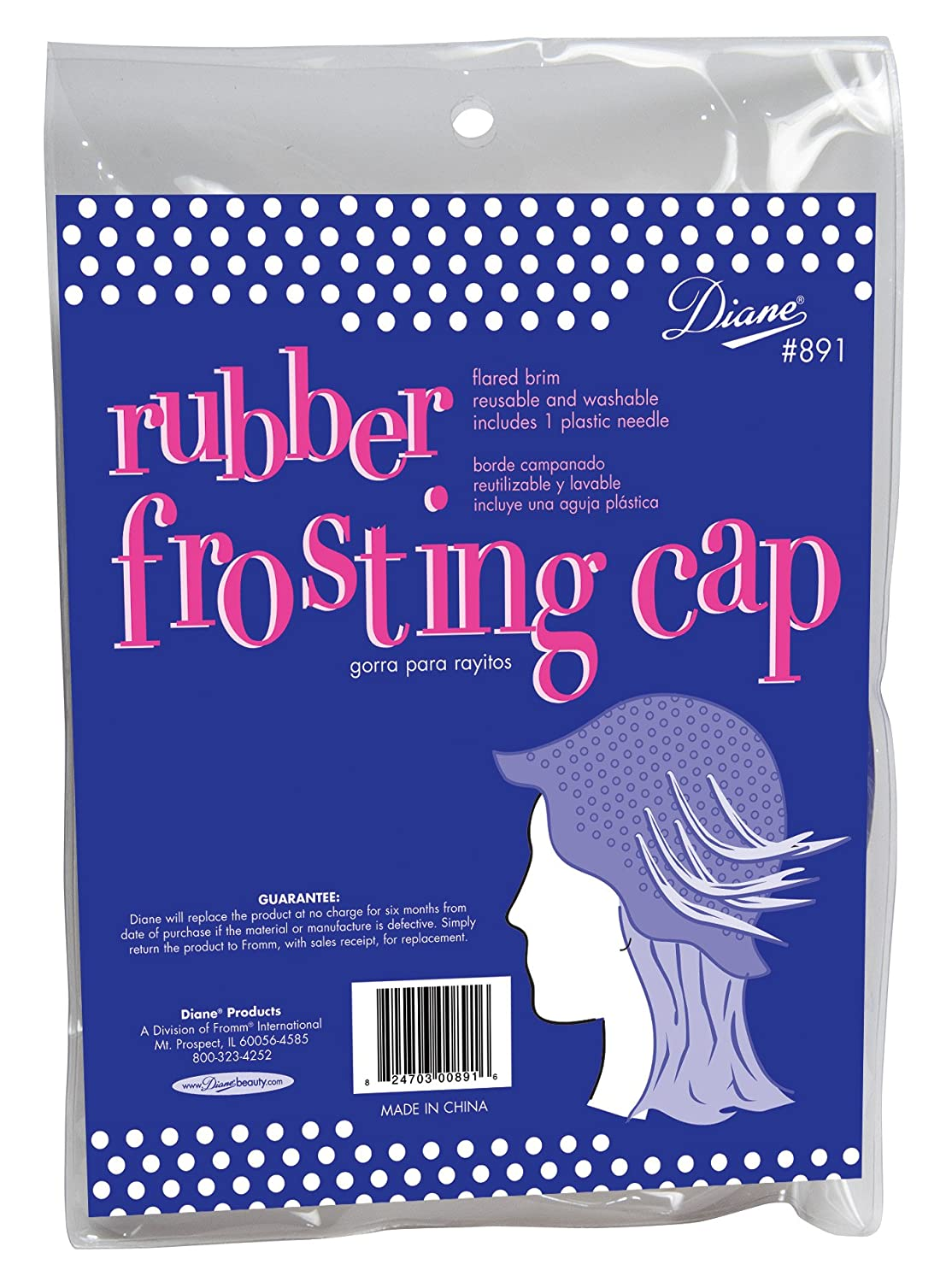 Fromm International Diane Frosting Cap Rubber with Metal Needle D891