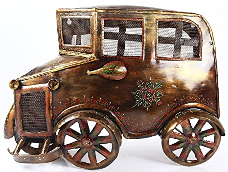 Buy Elegant Iron Metal Handicraft Vintage Car Wall Decor Wall