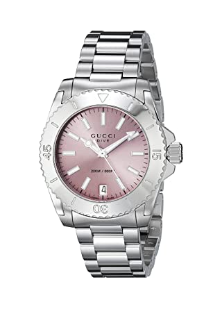 ef7f5220f30 Gucci Dive YA136401  Amazon.co.uk  Watches
