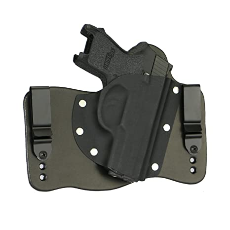 FoxX Holsters fits Sig Sauer P250 Subcompact Compatible In The Waistband  Hybrid Holster Tuckable, Concealed Carry Gun Holster