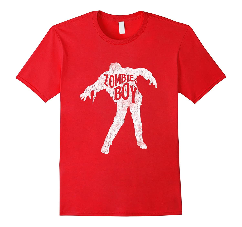 Zombie Boy Love Brains Halloween Brain Shirt Trick Or Treat-ANZ