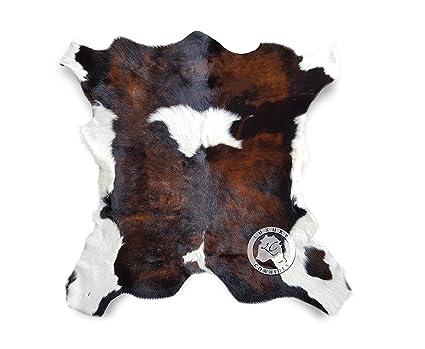 Amazoncom Calfskin Tricolor Exotic Calf Hide Cow Skin Cowhide Rug