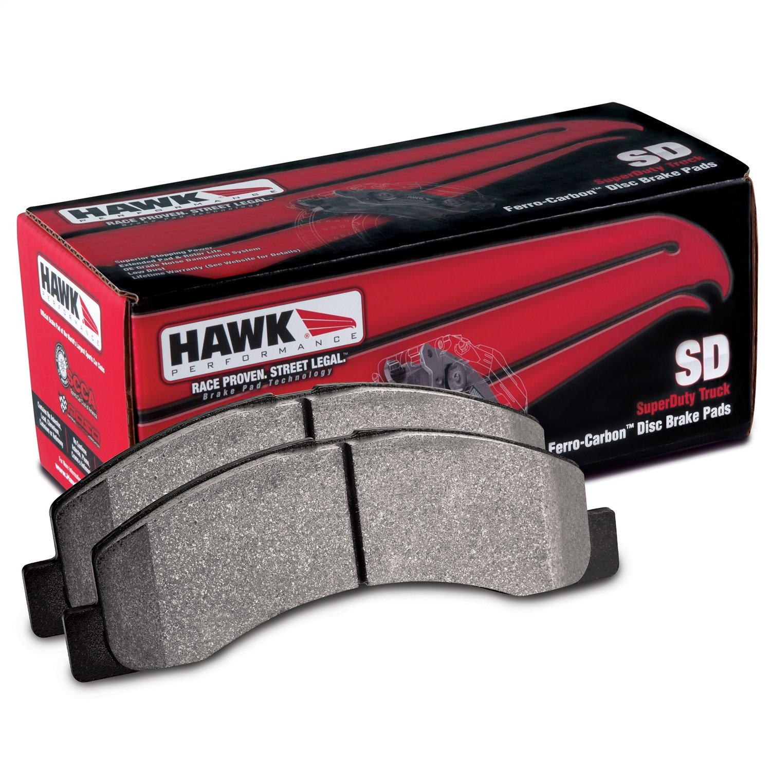 5. Hawk Performance HB322P.717 SuperDuty Brake Pad
