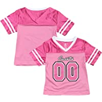dd424c8e1 Outerstuff New Orleans Saints Logo #00 Pink Dazzle Girls Youth Jersey