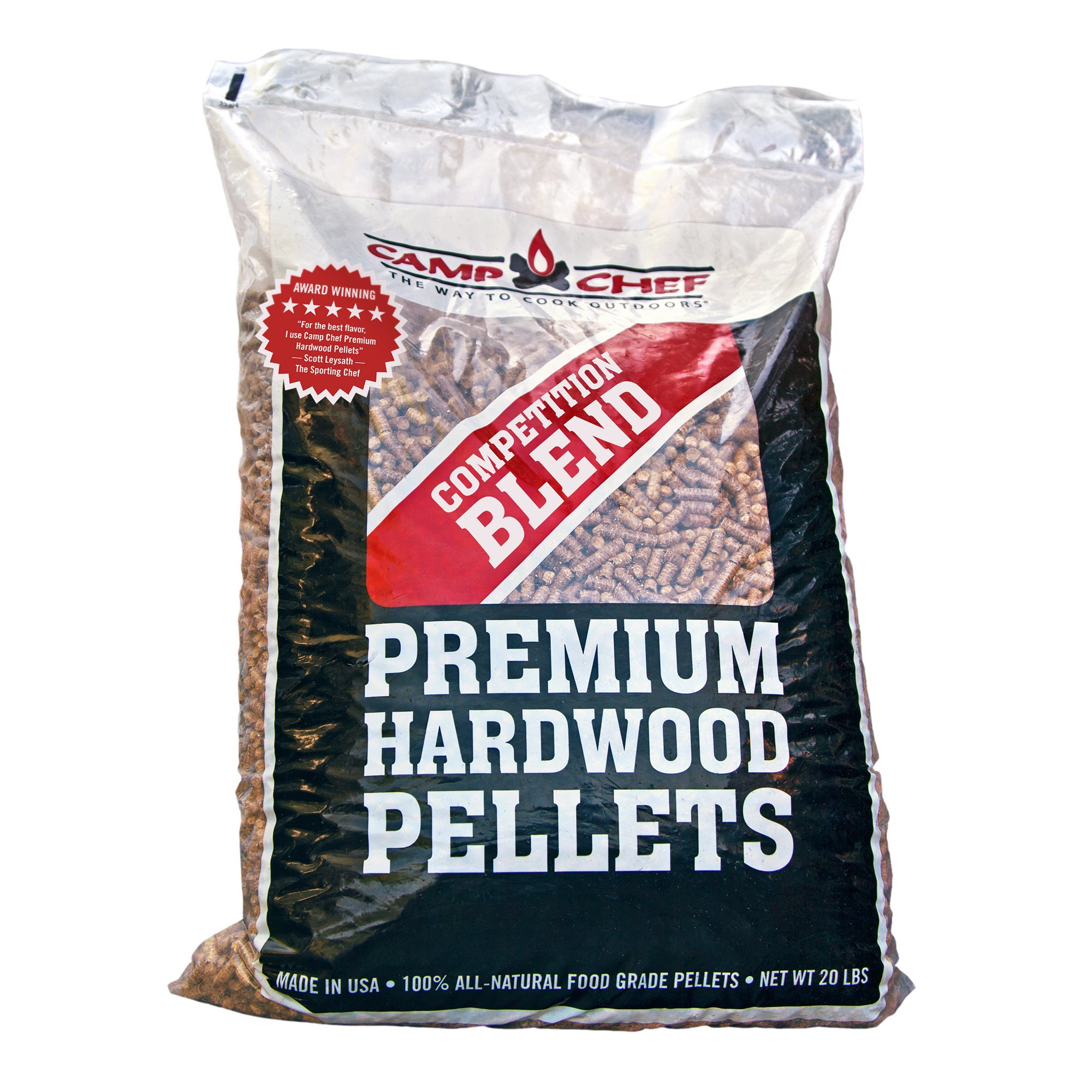 Camp Chef Smoker Grill Competition Blend Hardwood Pellets, 20 Pounds (4 Pack) by Camp Chef (Image #2)