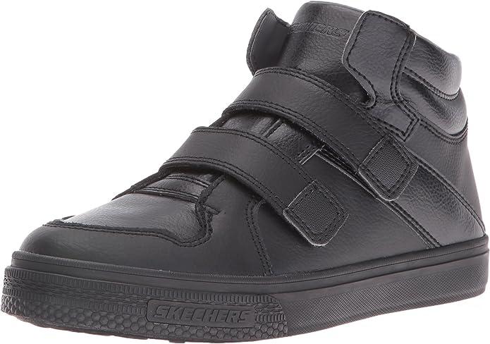 Skechers Kids Boys Brixor Dapper Kickz Sneaker,BlackBlack