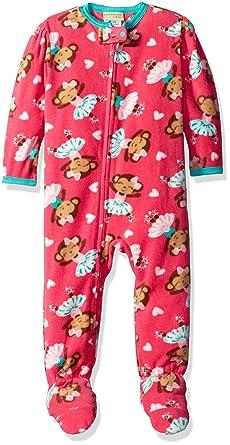 Amazon.com  Komar Kids Big Girls  Monkey Ballerina Blanket Sleeper ... f77862737