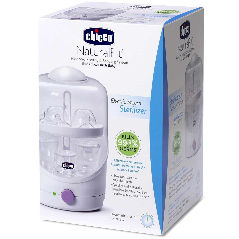 Amazon.com: Chicco Esterilizador a vapor eléctrico: Baby