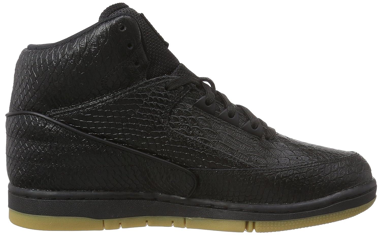 best sneakers e8c12 f4a13 Nike Men s s Air Python PRM Basketball Shoes Schwarz (Black Gum Light Brown),  7.5 UK  Amazon.co.uk  Shoes   Bags