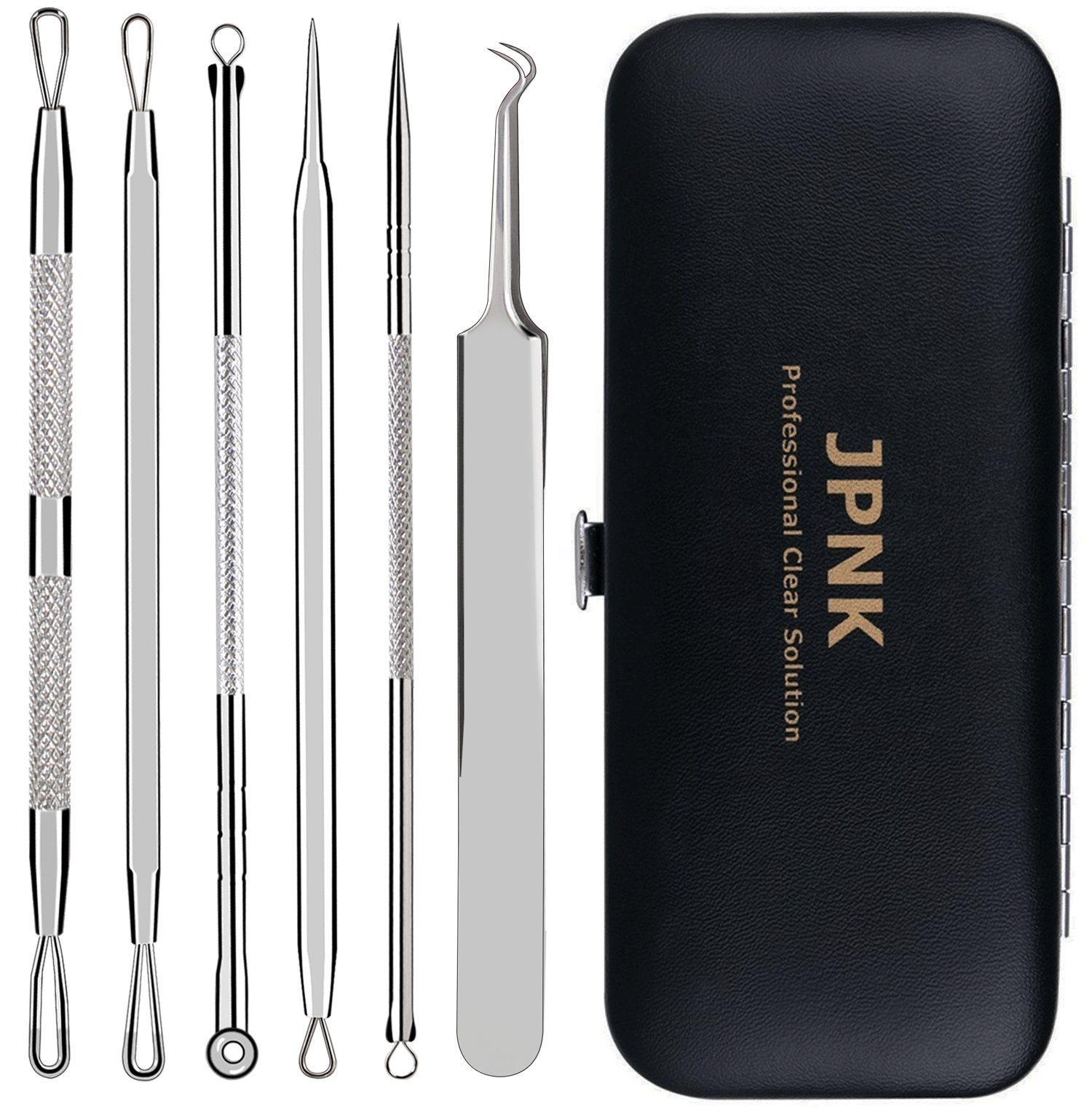 JPNK Blackhead 6 Piece Remover Tools Kit