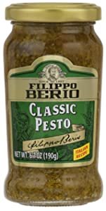 Filippo Berio Classic Basil Pesto, 6.7 Ounce